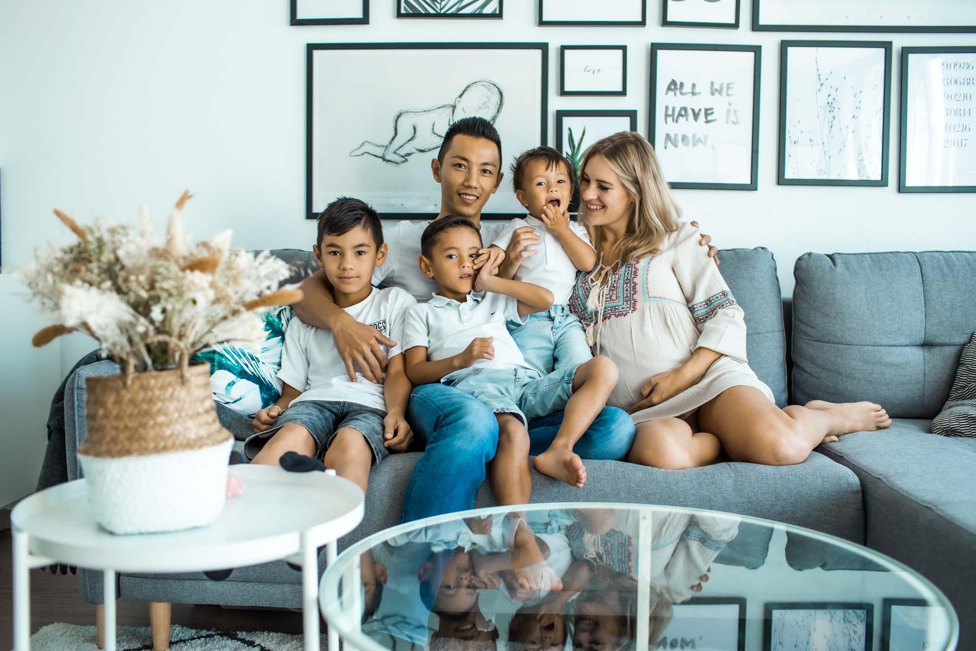 Lifestyle Familien Shooting in Hamburg