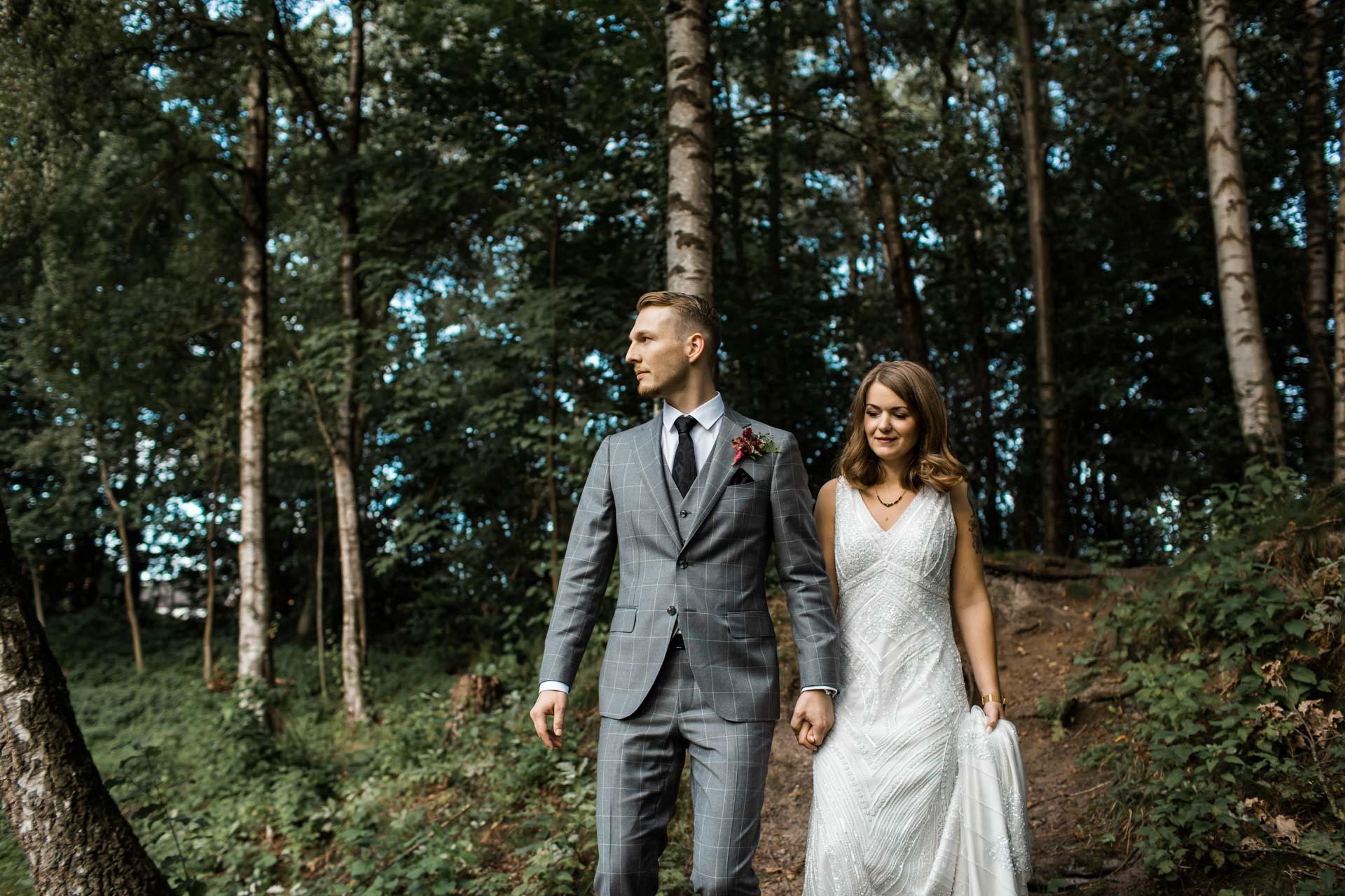 Hochzeitsfotos forest