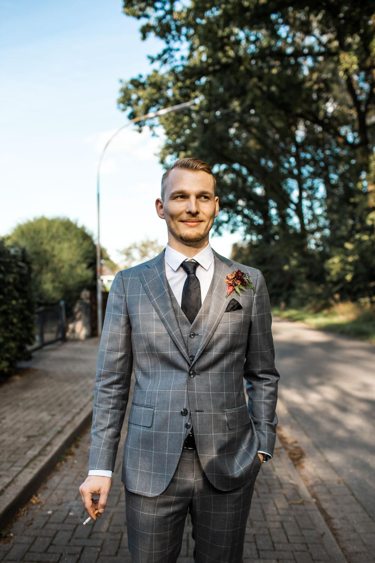 Hochzeit gentleman shooting