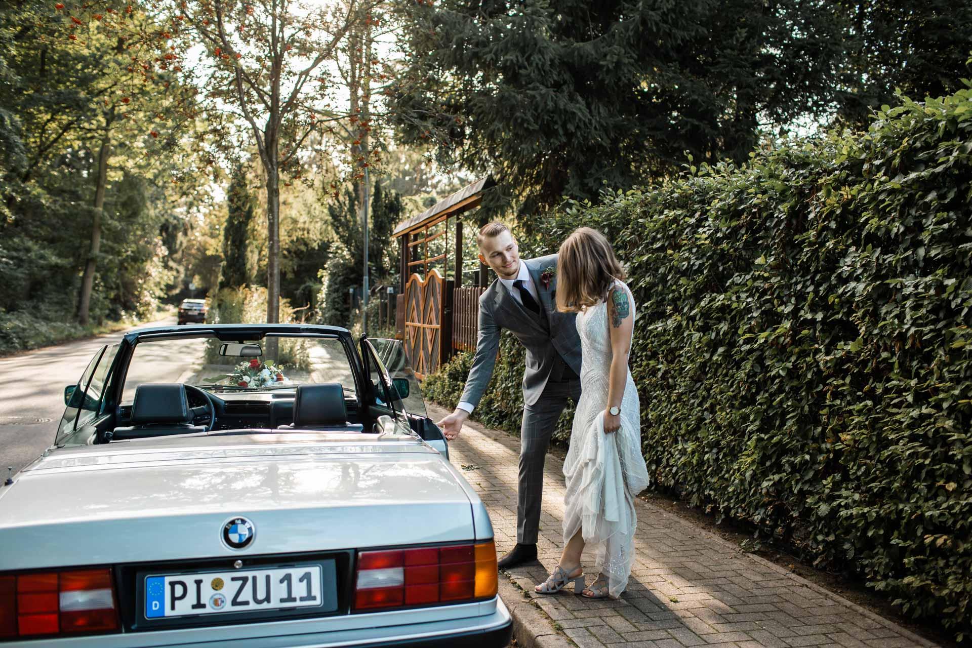 Hochzeits Brautpaar Shooting