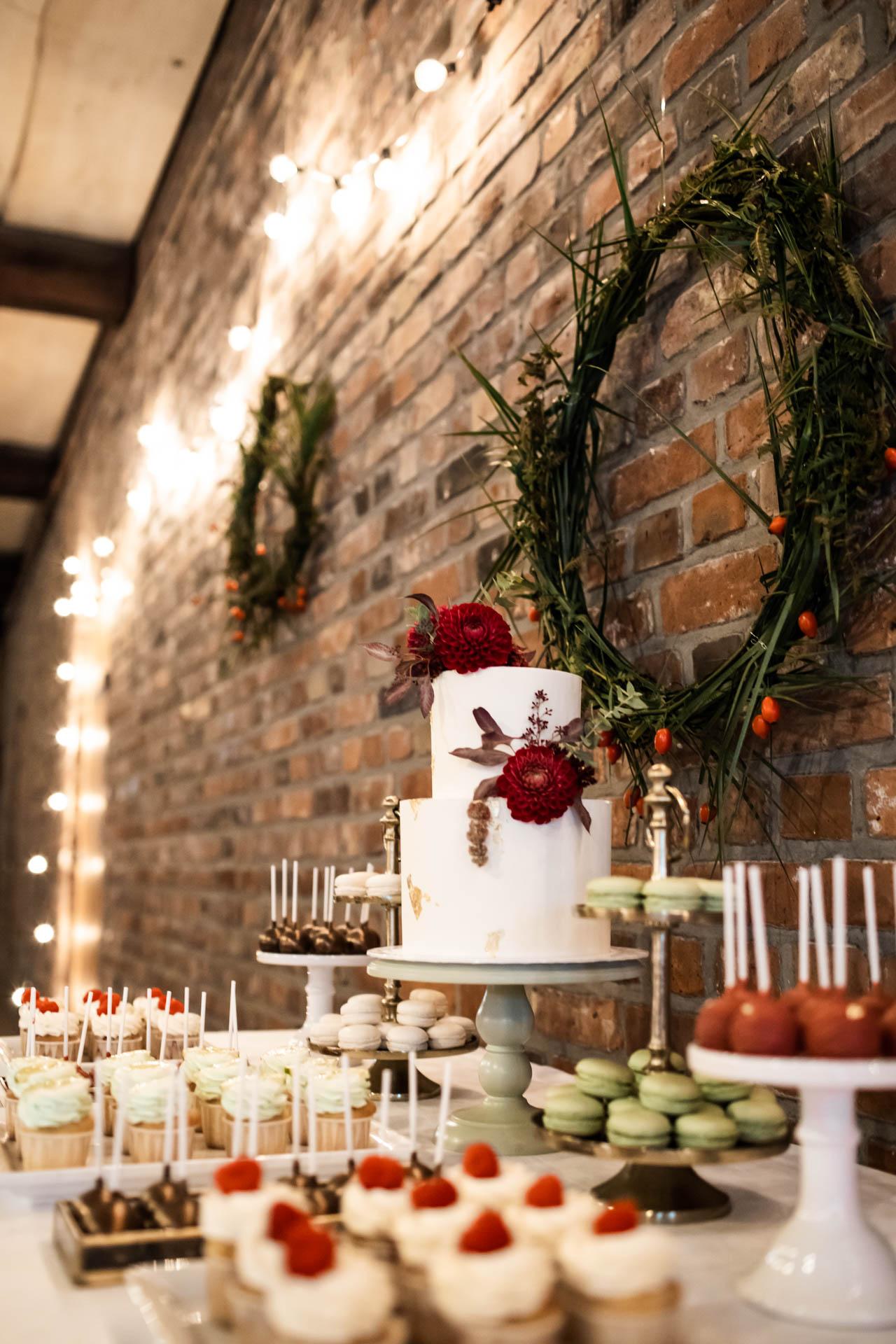 Boho-Hochzeit Torte Zuckermonarchie